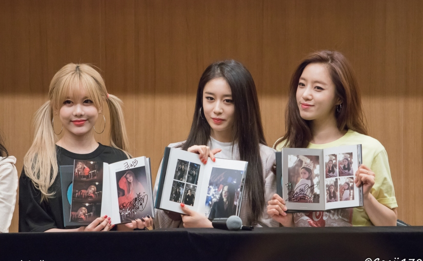 30/06/17 – T-ARA FANSIGN (WHAT'S MY NAME) – GROUP (5 PHOTOS V1)