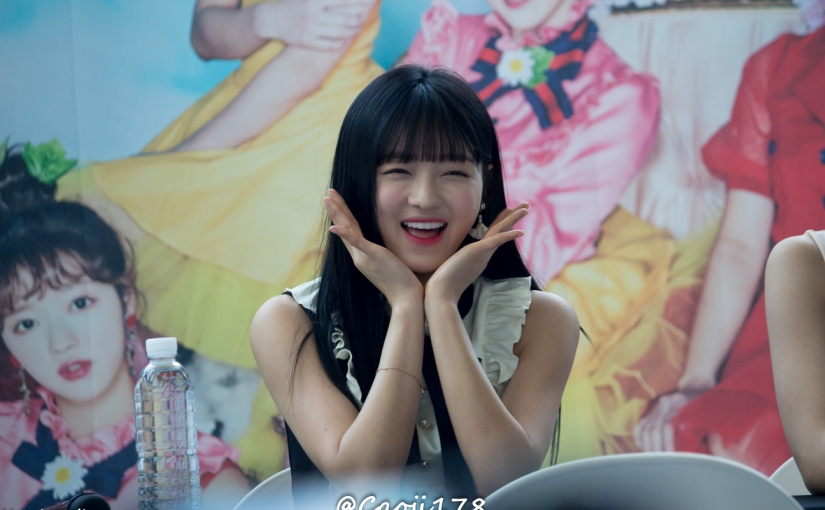 05/05/17 – OH MY GIRL FANSIGN (COLORING BOOK) – YOOA (19 PHOTOS V1)