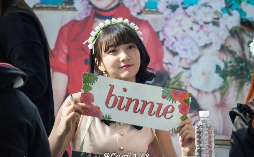 05/05/17 – OH MY GIRL FANSIGN (COLORING BOOK) – BINNIE (14 PHOTOS V1)