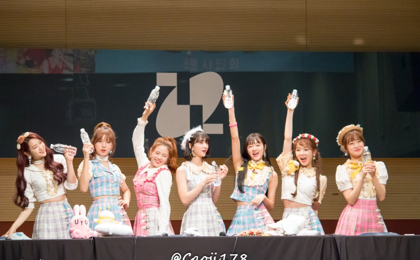 23/04/17 – OH MY GIRL FANSIGN (COLORING BOOK) – GROUP (14 PHOTOS V1)