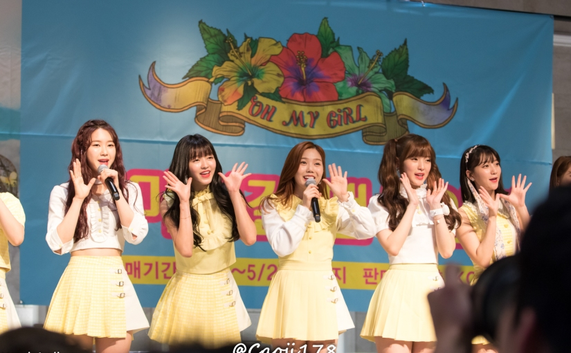 28/05/17 – OH MY GIRL FANSIGN (COLORING BOOK) – GROUP ( PHOTOS V1)