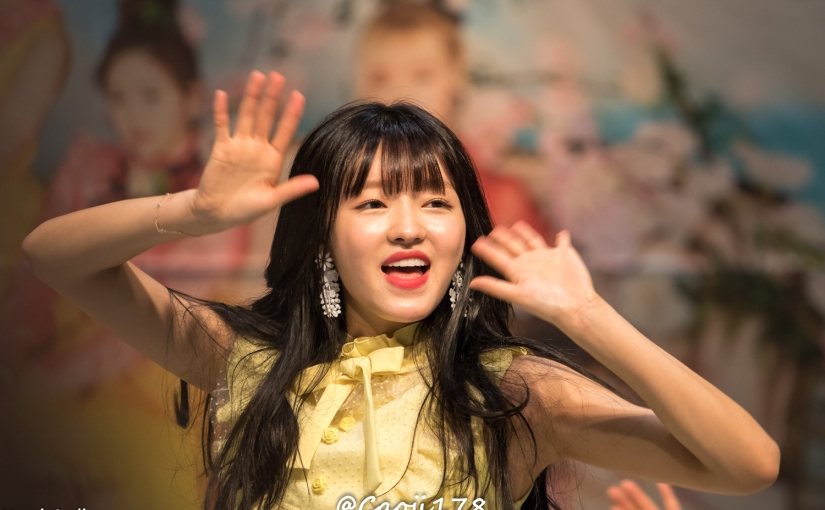 28/05/17 – OH MY GIRL FANSIGN (COLORING BOOK) – YOOA (54 PHOTOSV1)