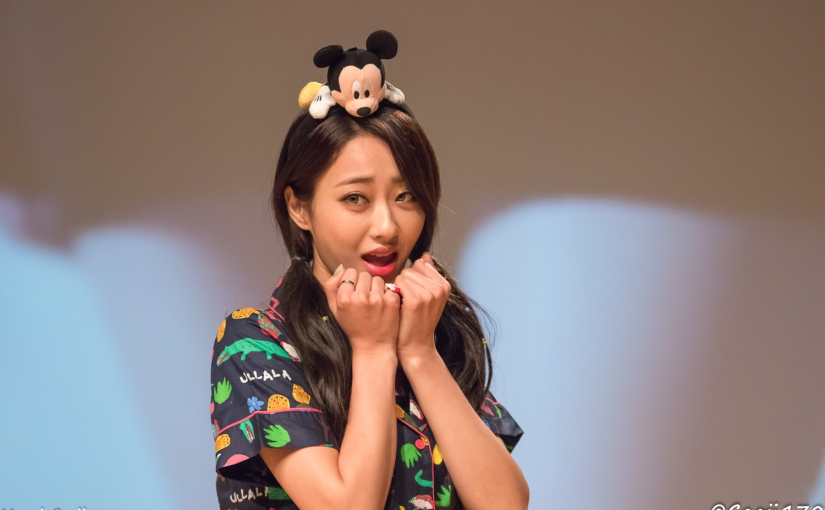 09/07/17 – NINE MUSES FANSIGN (REMEMBER) – GYEONGREE (32 PHOTOS V1)